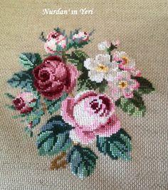 Nurdan' ın Yeri - A Cross Stitch Blog: A Classic ( Berlin Woolwork) / Klasik Bir Desen (Berlin İşi)