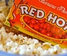 Movie themed popcorn. My favorite is the Chariots of Fire: popcorn and cinnamon red hots. See recipe