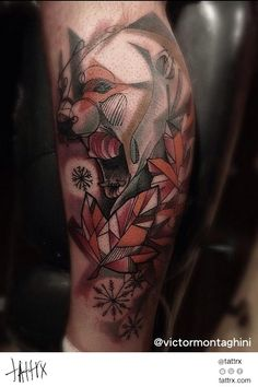 Victor Montaghini TattooYou - Angry Bear in Winter