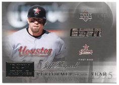Jeff Bagwell # AW 4 - 2005 Upper Deck ESPN Baseball ESPY Award Winners