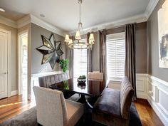 Transitional Dining Room, Dining Rooms Design