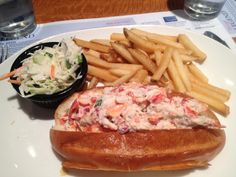 Lobster roll at Legal Seafoods, Boston