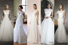 One beautiful trend for 2013 are transparent highlights on the wedding dress