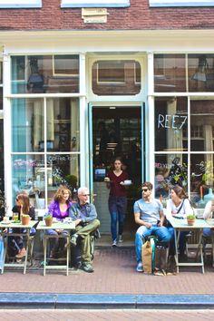 Ree7 - Amsterdam Gastrobar, Cafe, Heaven http://www.ree7.nl/en/home Bazar Coffee