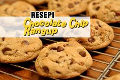 Resepi Biskut Chocolate Chip Ala Famous Amos | http://www.wom.my/saji/resepi-biskut-chocolate-chip-famous-amos/
