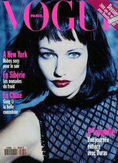 ☆ Karen Mulder | Photography by Ellen von Unwerth | For Vogue Magazine France | November 1993 ☆ #Karen_Mulder #Ellen_von_Unwerth #Vogue #1993