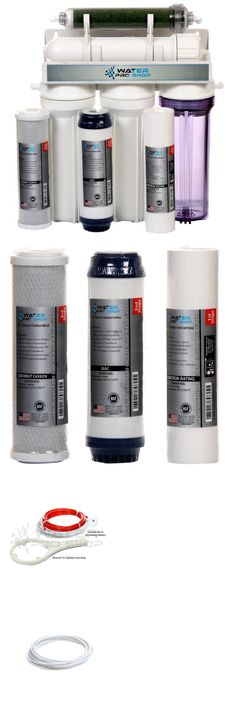 Reverse Osmosis and Deionization 77658: 5 Stage Aquarium Reef Reverse Osmosis (Ro/Di) Water Filter System - 50 Gpd - Usa BUY IT NOW ONLY: $89.0