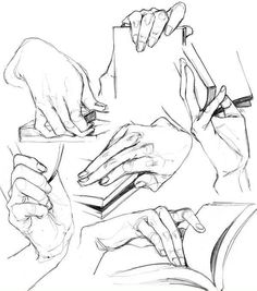 26 ideas drawing sketches hands character design r. 26 ideas drawing sketches hands character design r. Book Drawing, Drawing Poses, Drawing Tips, Drawing Sketches, Drawing Hands, Sketch Poses, Drawing Tutorials, Figure Drawing, Hand Drawing Reference