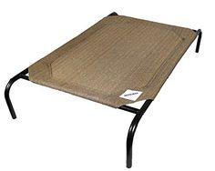 The Original Elevated Pet Bed By Coolaroo - Medium Nutmeg *** For more information, visit image link.