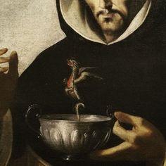 """blackpaint20: """" Detail from Francisco de Zurbarán, San Luis Beltrán, ca. 1663. """""""
