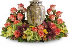 Sympathy Wreath For Fall Beautiful Tribute Fresh