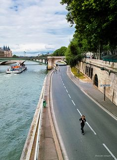 Running in Paris- everyone should get the chance.
