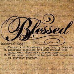 Blessed Digi Image via Graphique 1/$1.00