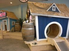 Kids Crooked House: Playhouses for Business, Schools, Daycares, and more