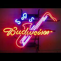 5BUDSA  <br>Budweiser Saxophone Neon Sign
