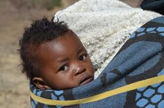 Imagine carrying your child like this everyday! Don't forget to support Reclaimed Project to help sweet babies like this one and the families in Lesotho!