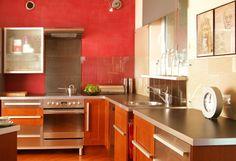 Decorate in warm colors 2