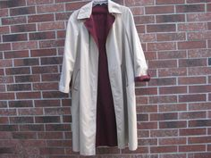AMAZING ReversIble TRENCH Coat by Etienne Aigner by PatsyTexasRose
