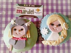 Cupcakes Thor. Elsa