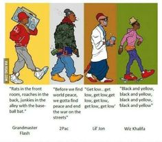Is this evolution or degradation of the hip hop culture ?