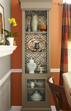 This elegant china hutch has ample room for showcasing your favorite serving pieces. Make it yourself in just two weekends by following our simple woodworking instructions.
