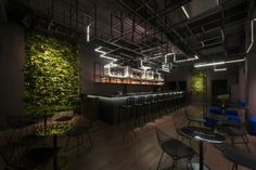 Botanist Cocktail Bar in Shanghai by Alberto Caiola | Yellowtrace