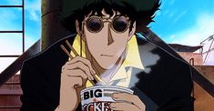 "gotham: "" Are you living in the real world? - Cowboy Bebop: Knockin on Heaven's…(GIF set)"