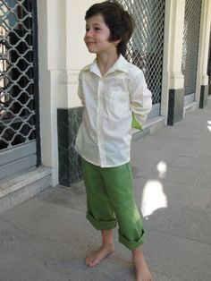"""We are so excited to get colored denim for boys...""""Why not? Europe is already doing it"""" :)"""