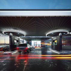 Gas-Station 01.UA on Behance