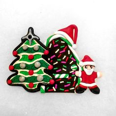 Candy Christmas Fairy Door ornament  Christmas by Wishcraft2013, £10.00