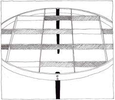 Gio Ponti, D.555.1, 1954/1955 | drawn by Riccardo Salvi