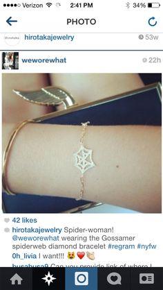 Need this web bracelet ! #charlottesweb