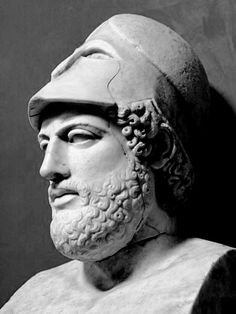 "Pericles - Athenian statesman and general. He turned the Delian League into an Athenian empire and led his countrymen during the first two years of the Peloponnesian War. The period during which he led Athens, roughly from 461 to 429 BC, is sometimes known as the ""Age of Pericles"", though the period thus denoted can include times as early as the Persian Wars, or as late as the next century."