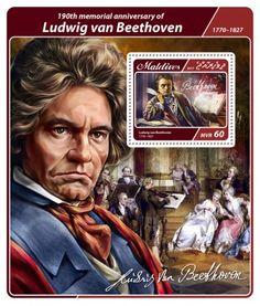 MLD17407b 190th memorial anniversary of Ludwig van Beethoven (Ludwig van Beethoven (1770–1827))
