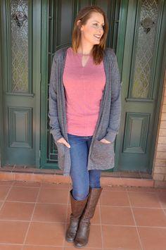 Cardigan Fall 2017 pdf sewing pattern SEW ALONG + Choosing your Claire Cardigan sewing pattern Knit Fabric – Seamingly Smitten