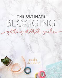 Start your blog, see the challenges every blogger faces and learn the 10 things you need to know before making your blog a business.  |  Think Creative Collective