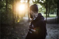 ELEVENCULT - LIFE LOVE DEATH 2016 WINTER COLLECTION -LLD HOODY -  Location Shoot München Germany - Classic Tattoo / Tatted Model / Traditional Tattoos / Apparel / Urban Street Photography - 11.11.11. Threeeleven Cult Clothing