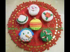 #Cupcakes de #navidad #reposteria