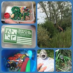 Just some of the things that can be found while #geocaching.