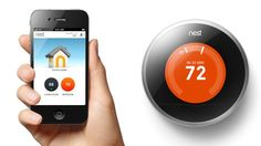 PHOTO: The second generation Nest thermostat is pictured, like the original it works with an app.