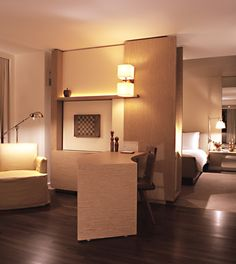Park Hyatt Washington: Guestrooms at the Park Hyatt are modern and spacious, like this Premier Park Deluxe King.