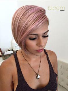 Pravana Pastel Pink on blonde hair