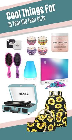 31 Best Gift Ideas for 16 Year Old Girls in 2019 – christmasgift 16 Year Old Christmas Gifts, Christmas Gifts For Teen Girls, Best Gifts For Girls, Cool Toys For Girls, Teenage Girl Gifts, Tween Girls, Gifts For Teens, Sporty Teen, Gifts For Young Women