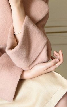 cozy pale pink sweat
