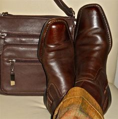 7d21f36bbc175a Kenneth Cole boots  amp  brown leather bag… Mens Shoes Boots