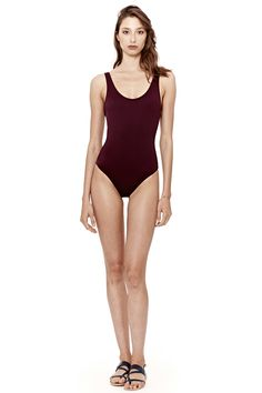 Our signature one piece is a modern take on swimwear s most classic