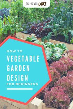Vegetable Garden Design: How To Plant Your Veggie Patch Vertical Vegetable Gardens, Vegetable Garden Planner, Vegetable Garden Design, Vegetable Gardening, Quick Garden, Diy Garden, Garden Ideas, Garden Inspiration, Gardening For Beginners