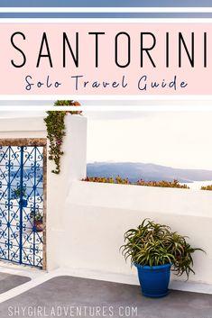 #santorini #greecetravel #solotravel