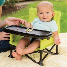 Summer Infant Pop 'n Sit Portable Booster - Highchairs, Boosters & Splash Mats - Equipment