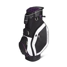 Sun Mountain Golf Women's Diva Cart Bag - Purple/Black/White - 2015 Closeout